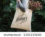 design space on a tote bag | Shutterstock . vector #1101215630