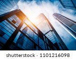 low angle view of skyscrapers...   Shutterstock . vector #1101216098