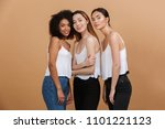 image of three beautiful...   Shutterstock . vector #1101221123