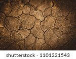 texture of dry cracked earth.... | Shutterstock . vector #1101221543