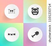 modern  simple vector icon set...   Shutterstock .eps vector #1101233714