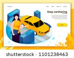 vector concept illustration   ... | Shutterstock .eps vector #1101238463