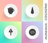 modern  simple vector icon set... | Shutterstock .eps vector #1101242960