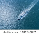 aerial view of the sea and a... | Shutterstock . vector #1101246839