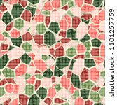 seamless camouflage pattern.... | Shutterstock .eps vector #1101257759