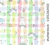 hand drawn seamless pattern...   Shutterstock .eps vector #1101262433