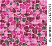 seamless camouflage pattern.... | Shutterstock .eps vector #1101270098