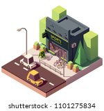 vector isometric sports and... | Shutterstock .eps vector #1101275834