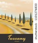Tuscany Italy Cypress Tree...