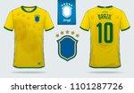 soccer jersey or football kit...   Shutterstock .eps vector #1101287726