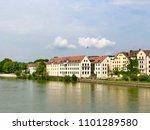 regensburg city line | Shutterstock . vector #1101289580