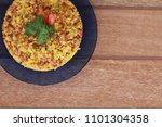 cuscuz   tipical brazilian food  | Shutterstock . vector #1101304358