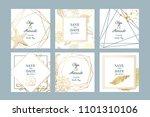 summer holiday sea card... | Shutterstock .eps vector #1101310106