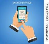 concepts online insurance...   Shutterstock .eps vector #1101315419