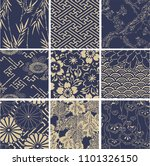 Collection Of Japanese Pattern...