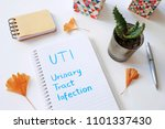 uti urinary tract infection... | Shutterstock . vector #1101337430