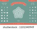 geometric oriental arabic... | Shutterstock .eps vector #1101340949