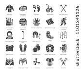 orthopedics  trauma... | Shutterstock .eps vector #1101341126