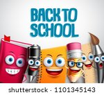 back to school vector... | Shutterstock .eps vector #1101345143