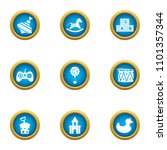 playing sequence icons set.... | Shutterstock .eps vector #1101357344