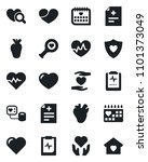 set of vector isolated black... | Shutterstock .eps vector #1101373049