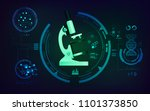 concept of medical technology ... | Shutterstock .eps vector #1101373850