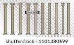 vector 3d  realistic... | Shutterstock .eps vector #1101380699