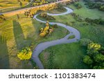 aerial view the dismal river in ... | Shutterstock . vector #1101383474