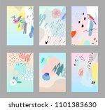 creative universal artistic... | Shutterstock .eps vector #1101383630
