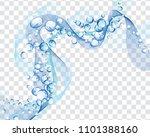 abstract water vector...   Shutterstock .eps vector #1101388160