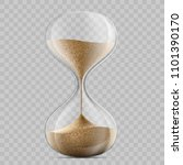 Icon Hourglass. Template...