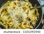 traditional italian vegetarian... | Shutterstock . vector #1101392540