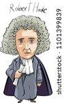 robert hooke  english nature...   Shutterstock .eps vector #1101399839