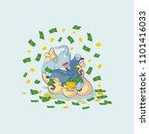 vector stock illustration... | Shutterstock .eps vector #1101416033