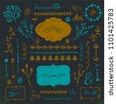 vector hand drawn doodle...   Shutterstock .eps vector #1101425783