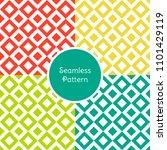 geometrical seamless pattern... | Shutterstock .eps vector #1101429119