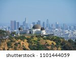 griffith observatory  la  usa | Shutterstock . vector #1101444059