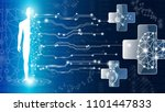 abstract background technology... | Shutterstock .eps vector #1101447833