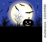 halloween | Shutterstock .eps vector #110145980