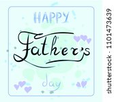 father  day  illustration  with ... | Shutterstock . vector #1101473639