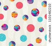 abstract polka dot style... | Shutterstock .eps vector #1101482210