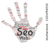 conceptual search results... | Shutterstock . vector #1101496910