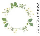 flowers. floral background.... | Shutterstock .eps vector #1101513560