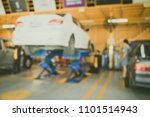 blur background of auto repair... | Shutterstock . vector #1101514943