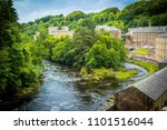 view of new lanark heritage... | Shutterstock . vector #1101516044