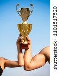 winner  win  champions cup ... | Shutterstock . vector #1101517520