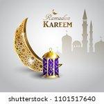 gold vintage luminous lantern....   Shutterstock .eps vector #1101517640