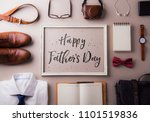 fathers day greeting card... | Shutterstock . vector #1101519836