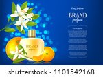 ad banner of luxury perfume... | Shutterstock .eps vector #1101542168