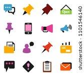 solid vector ixon set   paper... | Shutterstock .eps vector #1101546140